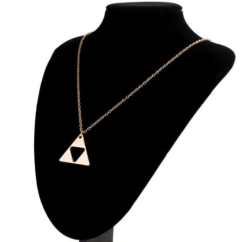 The Legend Of Zelda Triangle Pendant Necklace
