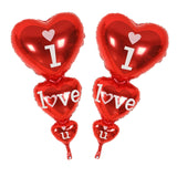 I Love You and Happy Day Balloons