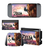 Nintend Switch Vinyl Skins Sticker For Nintendo Switch Console and Controller Skin Set -The Legend of Zelda