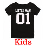 Matching Family Tees - Big & Little Man