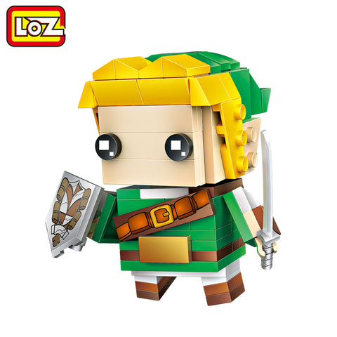 LOZ Link The Legend of Zelda Game Model Mini Building Blocks 154pcs Brick Head Figure Toy For Ages 6+ Offical Authorized 1424