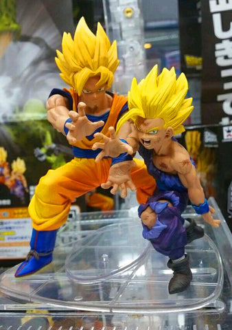 12cm Dragon ball Z Figure Son Goku Trunks Super Saiyan Dbz