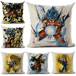 Dragon Ball Printed Square Cushion Cover 45*45cm Custom 70 Style
