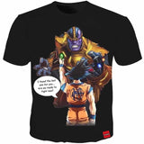 T-shirt Men Thanos Dragon Ball Super