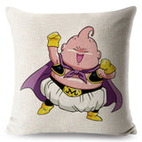 Cute Dragon Ball Super Saiyan Cushion Linen 45*45
