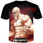 Dragon Ball Master Roshi Men Tshirt