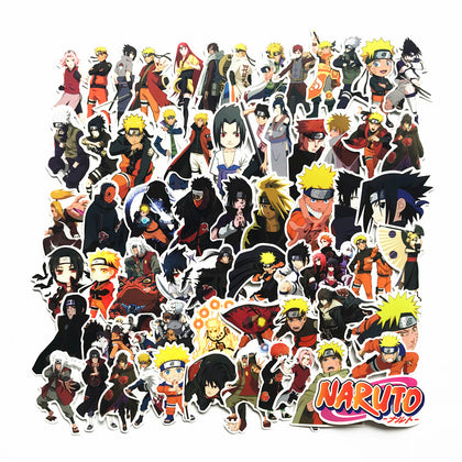 63 Pcs Naruto Vinyl Stickers
