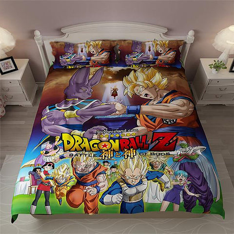 Dragon Ball Z Bedding Set