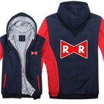 Dragon Ball Z Red Ribbon Army Zipper Hoodie