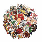 50 PCS ONE PUNCH-MAN Stickers