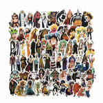 75 Pcs ONE PIECE Stickers