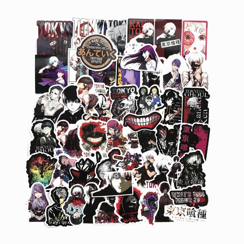 50 Pcs Tokyo Ghoul Stickers