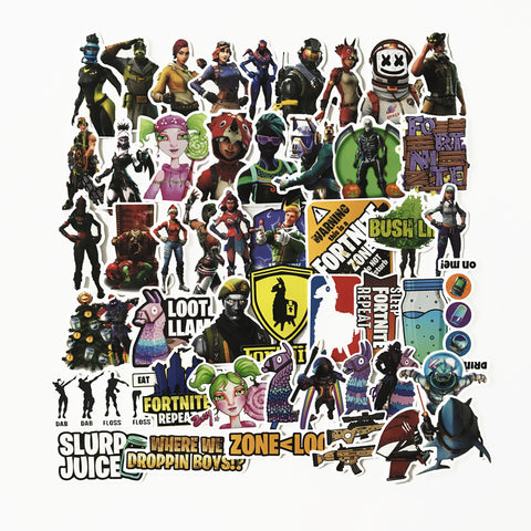 100 PCS Fortnite Stickers