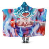 Dragon Ball Hooded Blanket