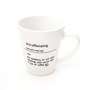 Procaffienating Coffee Mug - Pine Lane Designs