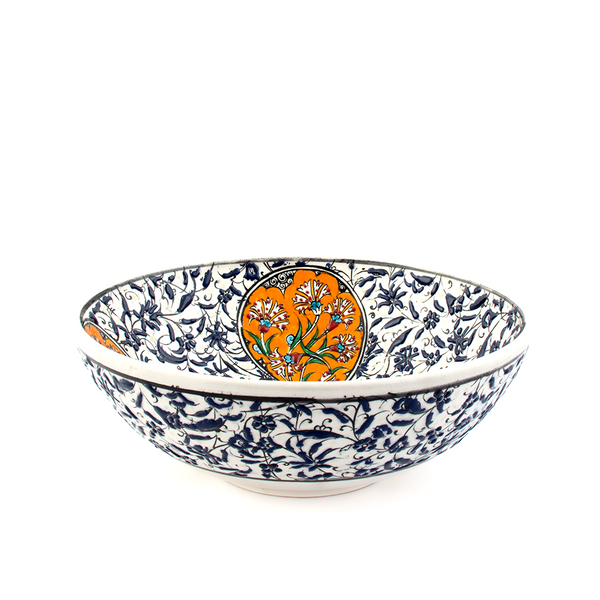 Turkish Ceramic Bowl - Pine Lane Designs