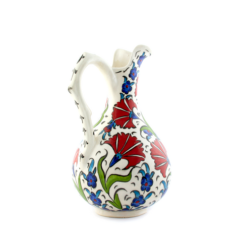 IZNIK PITCHER HOME DECOR VASE - Pine Lane Designs