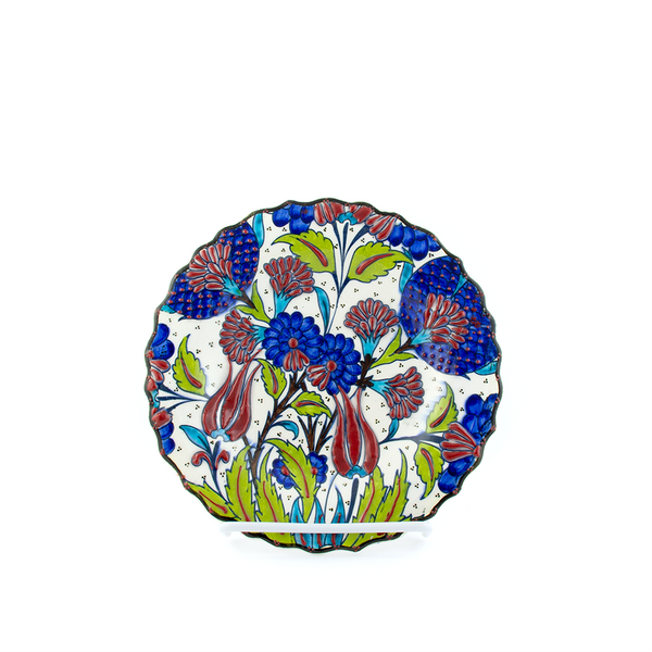 Turkish Ceramic Plate - Pine Lane Designs