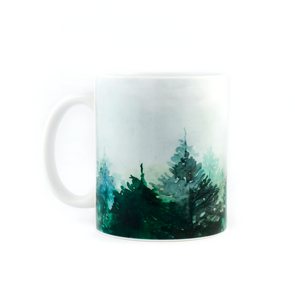 Forest Vibe Coffee Mug - Pine Lane Designs
