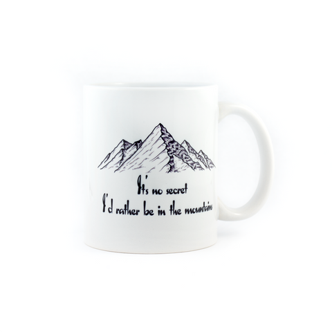 Mountain Love Coffee Mug - Pine Lane Designs
