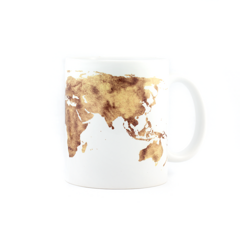 Map On A Mug Coffee Mug - Pine Lane Designs