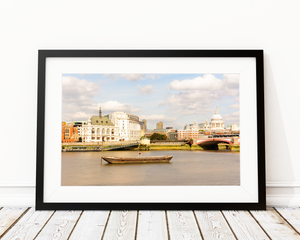 BANKS OF THAMES ART PRINT DECOR - Pine Lane Designs