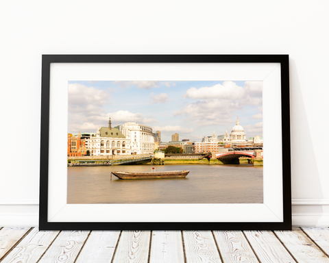 Bank Of Thames Art Print Decor - Pine Lane Designs