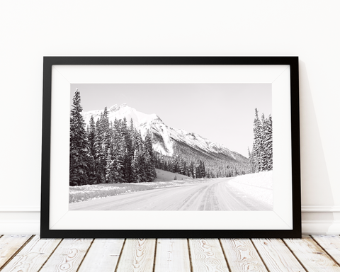 Mountain Roads Art Print Decor - Pine Lane Designs
