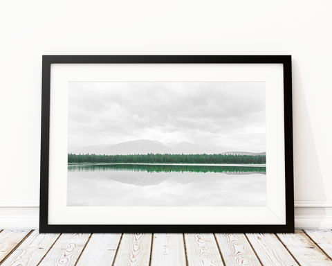 Morning By The Lake Art Print Decor - Pine Lane Designs