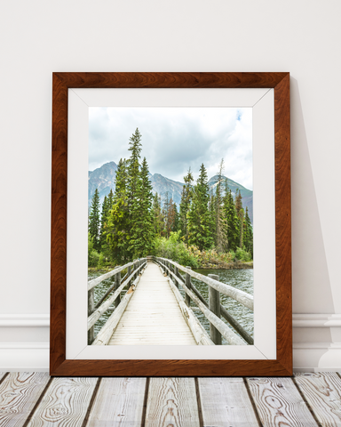 Island Bridge Art Print Decor - Pine Lane Designs