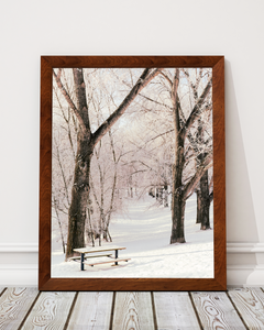 Winter Morning Art Print Decor - Pine Lane Designs
