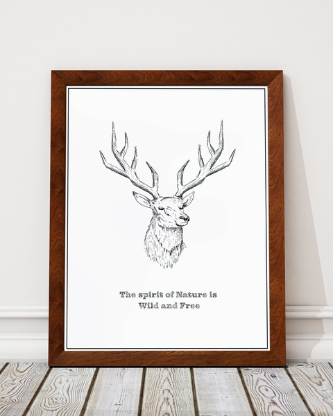 Spirit Of Nature Art Print Decor - Pine Lane Designs