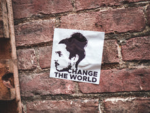 "Nathan Harmon ""Change the World"" Sticker - LARGE"