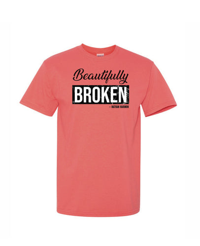 BEAUTIFULLY BROKEN Shirt - Watermelon