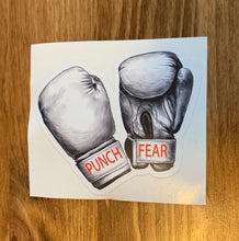 Punch Fear Sticker