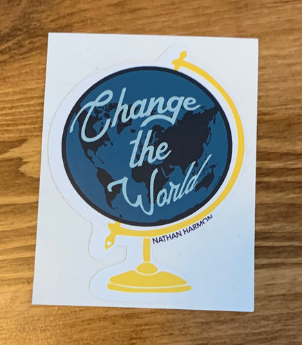 Change the World Sticker