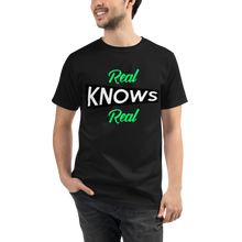 REAL KNOWS REAL SHIRT - BLACK