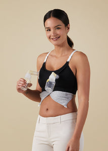 Clip and Pump™ Hands-Free Nursing Bra Accessory