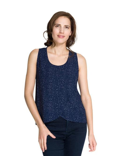 Momzelle Maggie Navy Dots