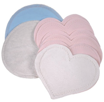 Bamboobies Washable Nursing Pads - 4 pair variety pack