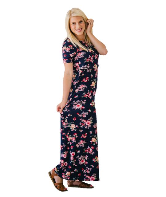 Undercover Mama Maxi Nursing Dress