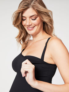 Toffee Seamless Nursing Tank