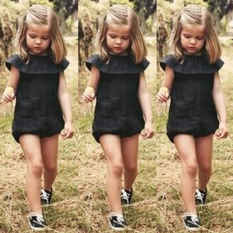 8dcb4bd1f5a LBR - Little Black Romper for Girls – Twin Lakes Boutique