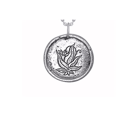 The Four Agreements Hunab-Ku Necklace in Sterling Silver
