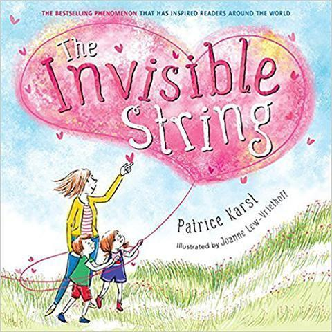 The Invisible String Paperback Cover | Jewelry Collaboration