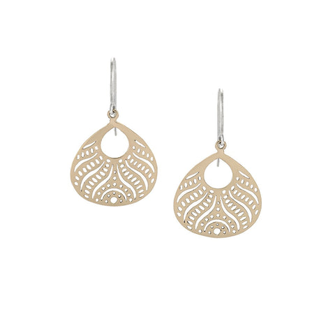 JOY Small Earrings in Sterling Silver