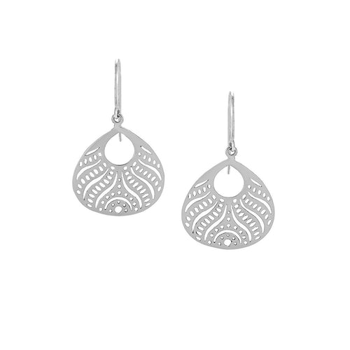 Beauty from Within Earrings in Sterling Silver | Jewelry Evolution8 | Handcrafted Jewelry