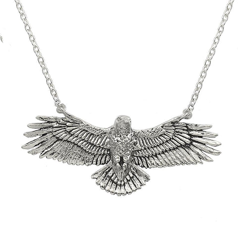 Rise Strong Phoenix Necklace in Bronze