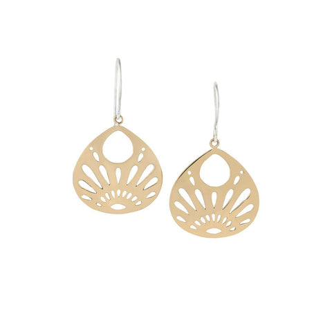 ABUNDANCE | Beauty from Within Small Earrings in Bronze