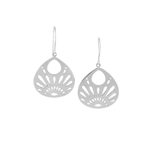 Joy | Shine Your Light Earrings | Small Silver Earrings | Jewelry Evolution8 | Handcrafted Jewelry